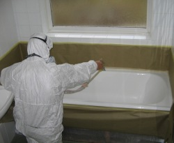 London bathroom restoration enamelling Services